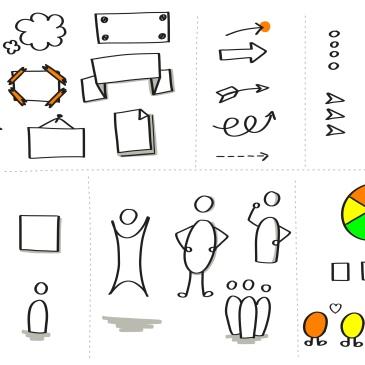 Visuele Effect/ Visuele Bouwstenen om je tekening te versterken