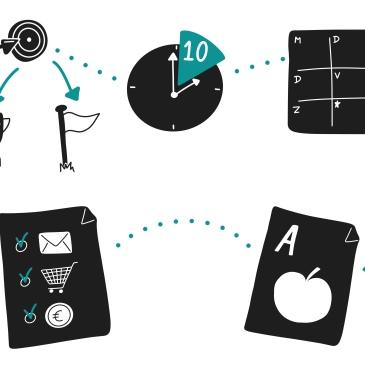 Je visueel vocabulaire vergroten, breid je symbolenbibliotheek uit - zakelijk tekenen/ visuele communicatie